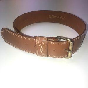 Linda Allard for Ellen Tracy leather belt